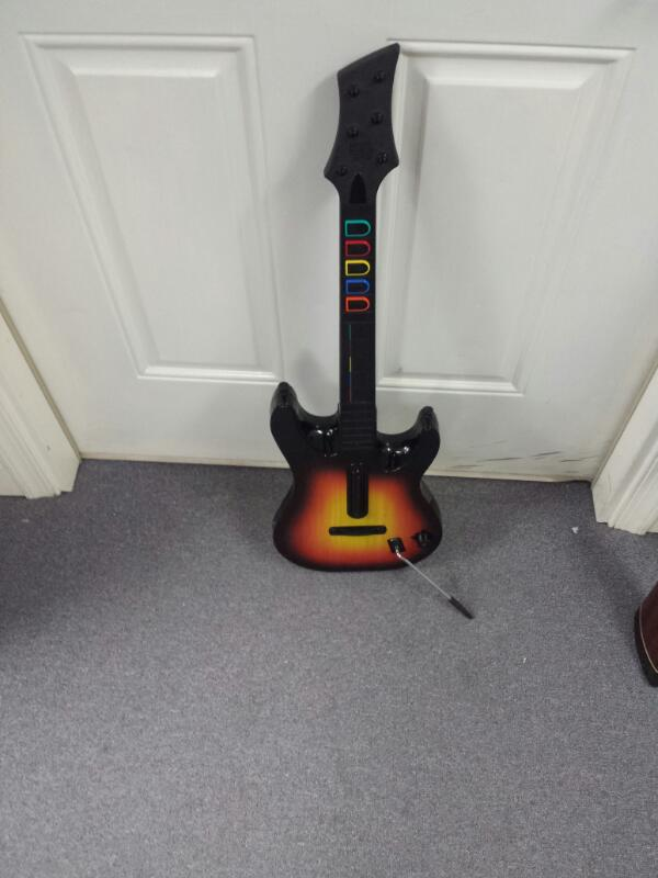 RED OCTANE 95449.805 Guitar Hero Wireless Controller PS2 No DONGLE!!