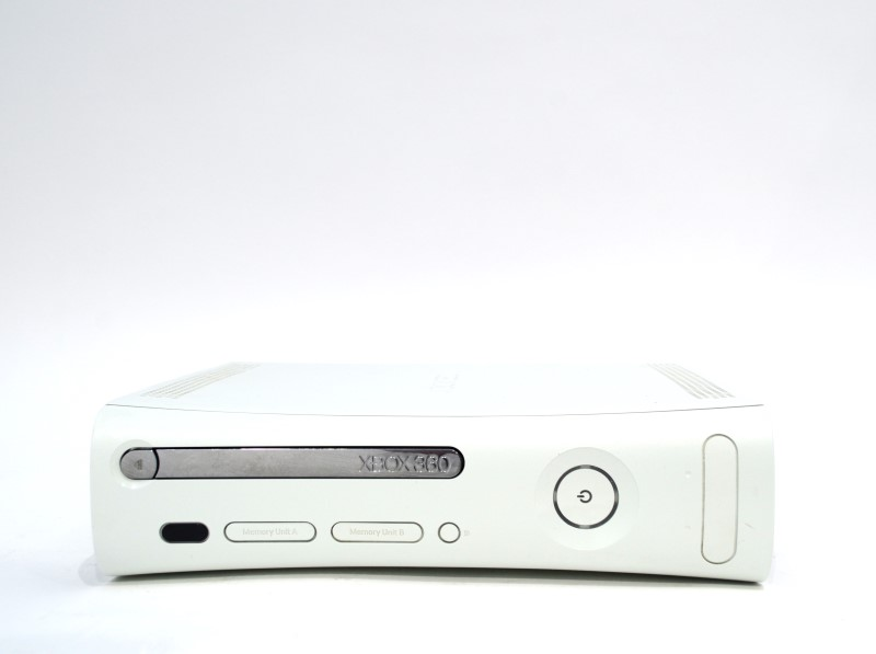 MICROSOFT XBOX 360 CORE CONSOLE AS-IS RED RING NO HDD FOR PARTS>