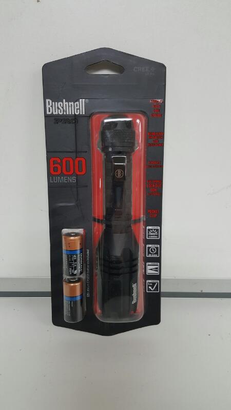 Bushnell Pro Flashlight - 600 Lumens - LED (Model # 20224)