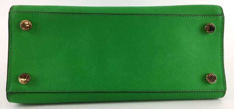 MICHAEL KORS GREEN KELLY SELMA HANDBAG
