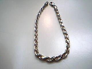 Silver Rope Bracelet 925 Silver 8.9g