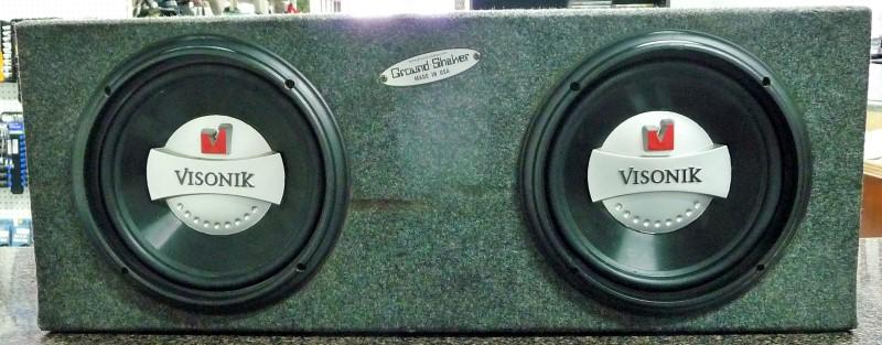 "VISONIK Car Speakers/Speaker System 10"""