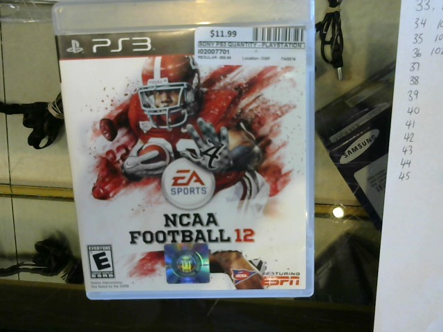 NCAA Football 2012 PS3