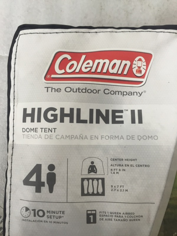 COLEMAN Camping HIGHLINE II