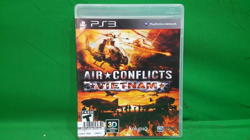 Air Conflicts: Vietnam (Sony PlayStation 3, 2013)