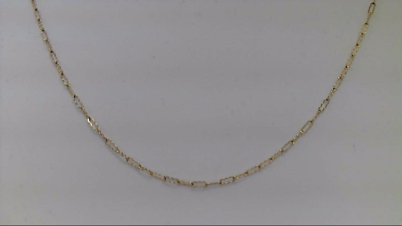 Gold Chain 10K Yellow Gold 1.44g