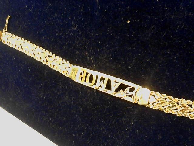 Gold Fashion Bracelet 14K Rose Gold 14.6g
