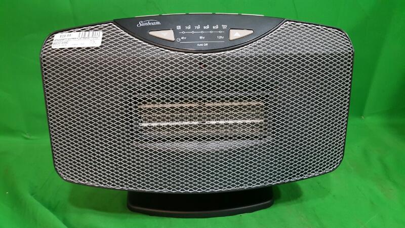Sunbeam Electric Flat Panel Ceramic Heater, SCH2100-WM