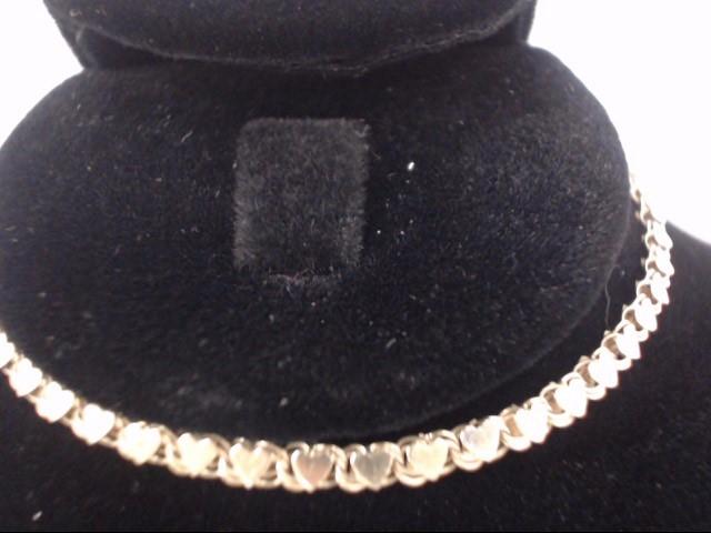 Gold Bracelet 14K Yellow Gold 2.7g