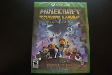 MICROSOFT XBOX ONE MINECRAFT STORY MODE SEASON PASS DISC