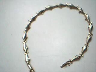 Gold Fashion Bracelet 14K Yellow Gold 5.1g