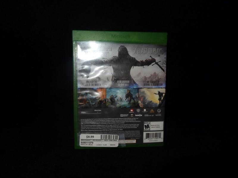 MICROSOFT Microsoft XBOX One Game SHADOWS OF MORDOR