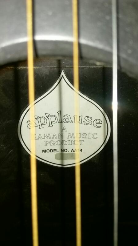 APPLAUSE BY OVATION ACOUSTIC GUITAR  MODEL AA14-1