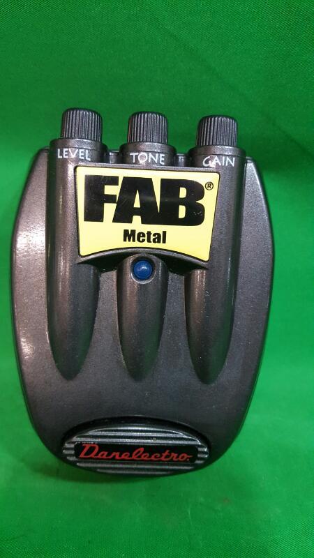 Danelectro Effect Pedal Distortion FAB Metal Guitar Effect Pedal (D-3)