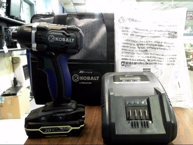 KOBALT TOOLS Impact Wrench/Driver K201D-26A