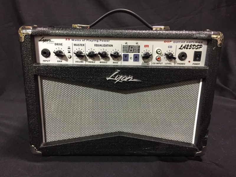 LYON BY WASHBURN Electric Guitar Amp LA25DSP GUITAR AMPLIFIER