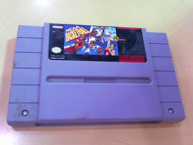 NINTENDO Nintendo SNES Game NCAA BASKETBALL SNES