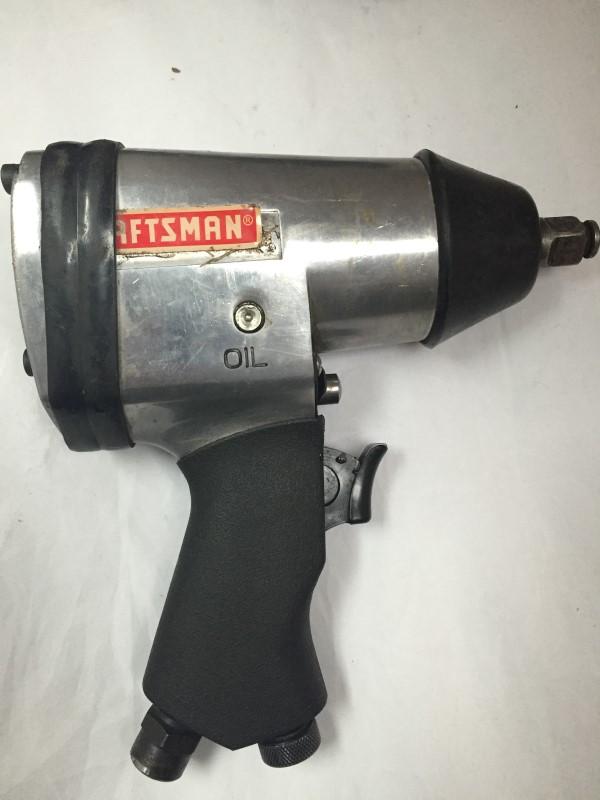 """Craftsman Air Pneumatic 1/2"""" Impact Wrench, Hammer, & Ratchet Kit Set"""