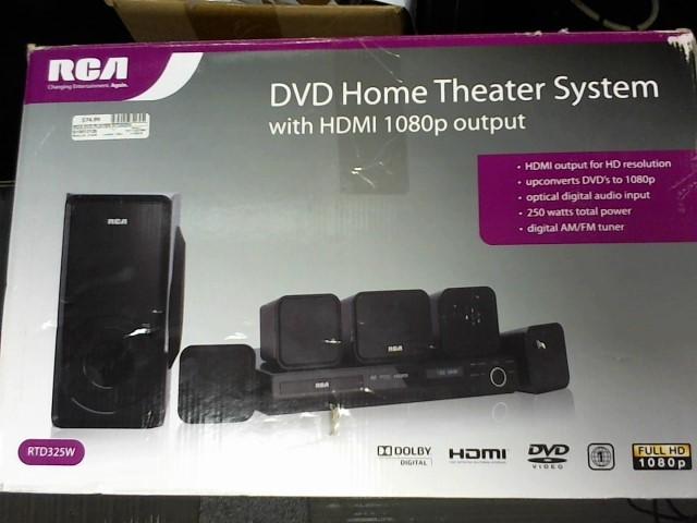 RCA DVD Player RTD325W