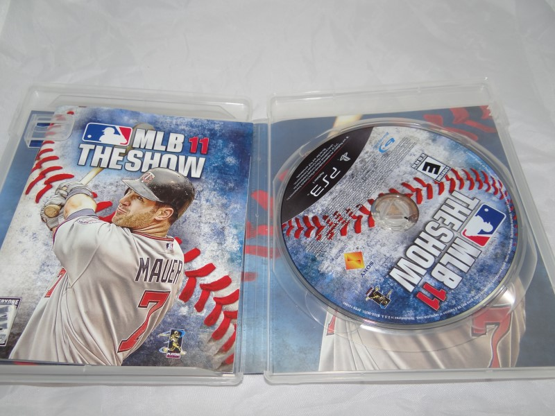 SONY PlayStation 3 PS3 EA Sports MLB 11: The Show 2011