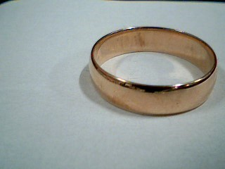 Gent's Gold Wedding Band 10K Yellow Gold 3.2g Size:9.5