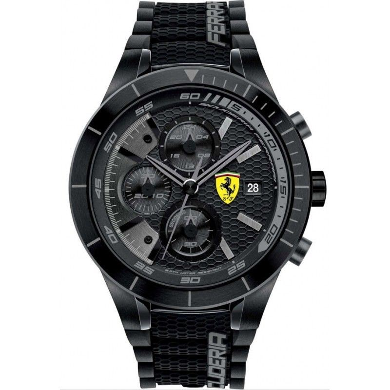 FERRARI Gent's Wristwatch CHRONOGRAPH WATCH 0830105