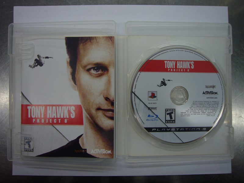 SONY PlayStation 3 Game TONY HAWKS PROJECT 8