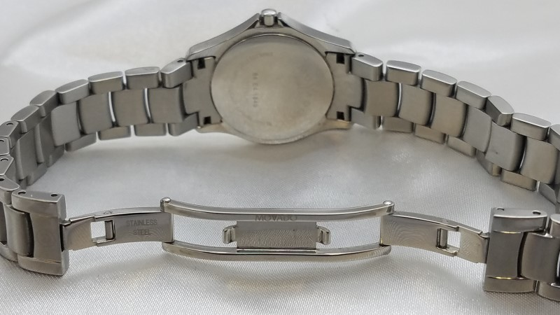 Movado 84-E41849 Museum Ladies Stainless Steel Watch