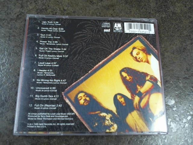 SOUNDGARDEN CD LOUDER THAN LOVE