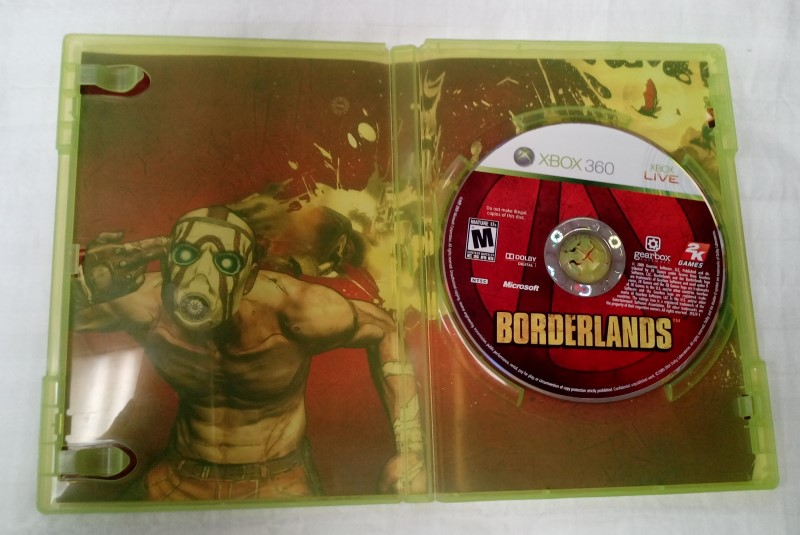 MICROSOFT XBOX 360 GAME BORDERLANDS