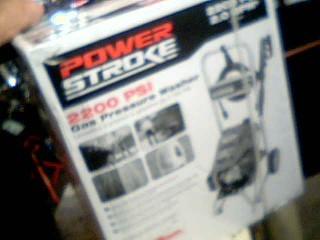 SUBARU Pressure Washer POWER STROKE 2200 PSI PRESSURE WASHER