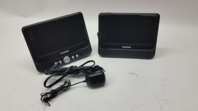 SYLVANIA Portable DVD Player SDVD8739 PORTABLE DVD PLAYER