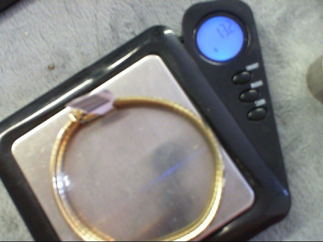Gold Bracelet 10K Yellow Gold 13.2g
