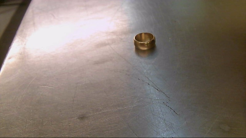 Gent's Gold Wedding Band 14K Yellow Gold 7.08g