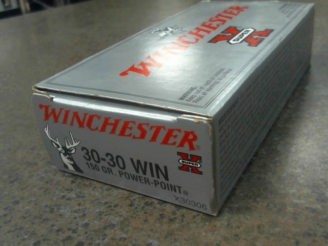WINCHESTER Ammunition SUPER X 30-30 150 GR POWER POINT