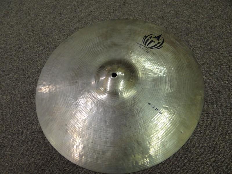 """DIRIL d 20 18"""" Ice Crash Cymbal"""