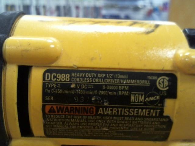 DEWALT Cordless Drill DC988