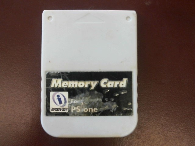 INTERACT PS1 MEMORY CARD