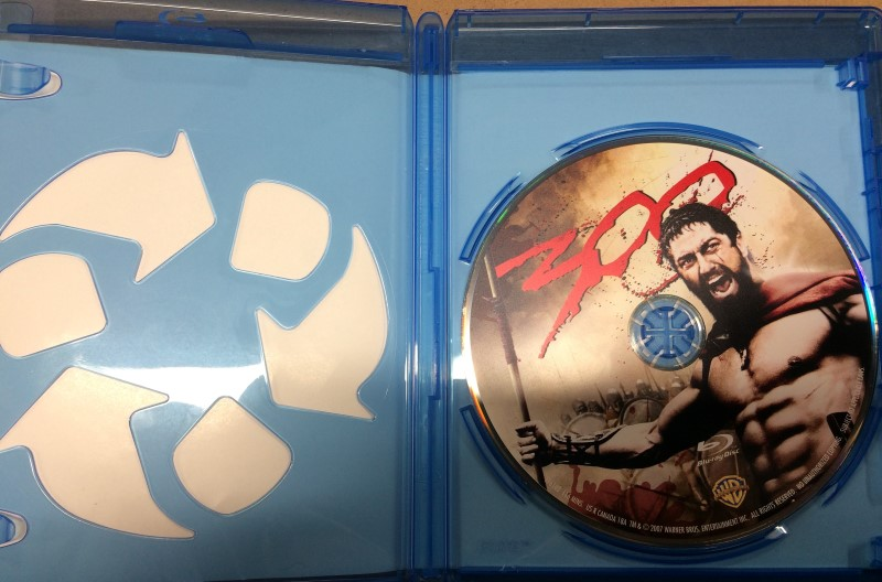300-BLU-RAY MOVIE (2007)