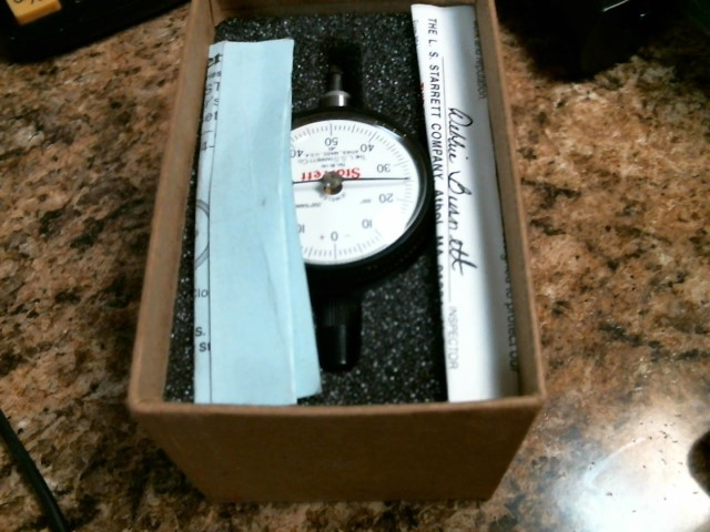 STARRETT Measuring Tool DIAL TEST INDICATOR