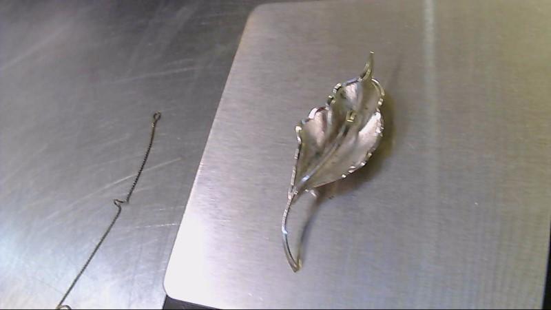 Silver Brooch 925 Silver 4.8g