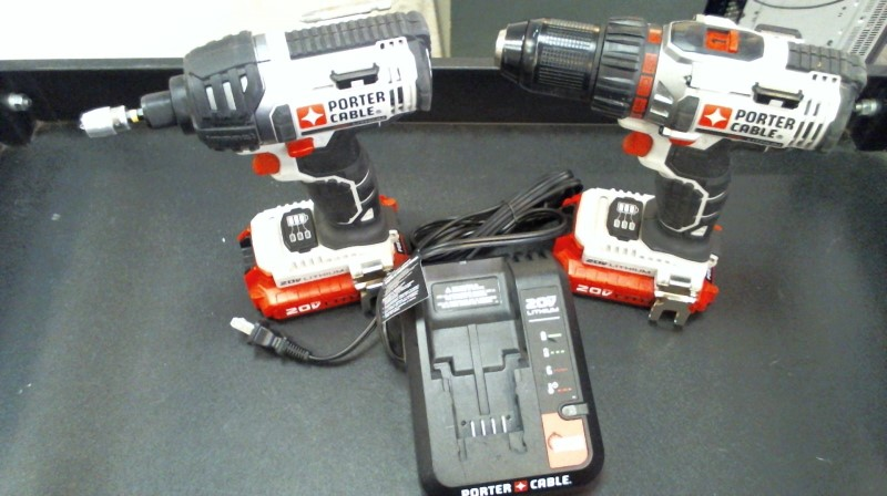 PORTER CABLE Cordless Drill PCCK602L2