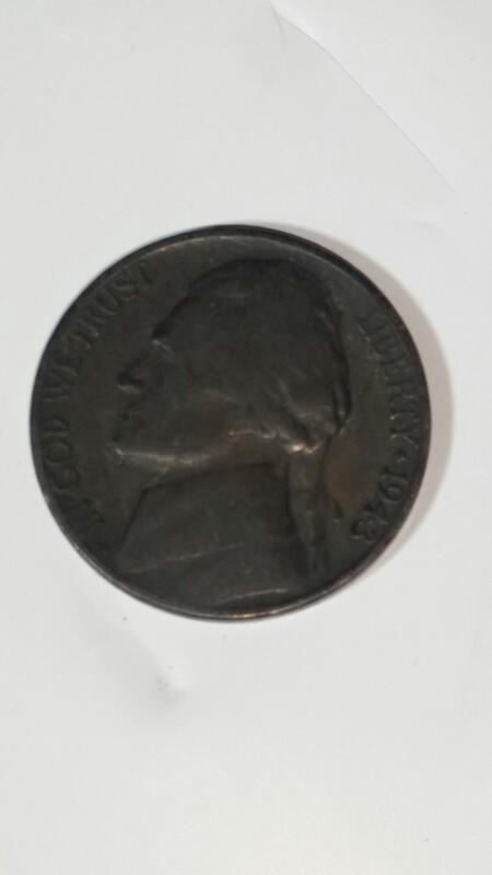 1943 P Jefferson Wartime Nickel 35% Silver