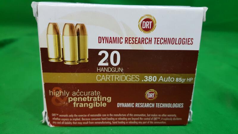 DRT AMMUNITION Ammunition 380 AMMO