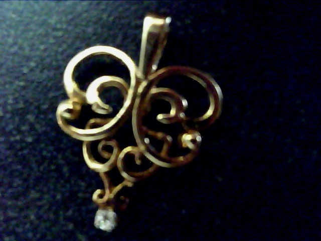 Gold Charm 14K Yellow Gold 0.6dwt