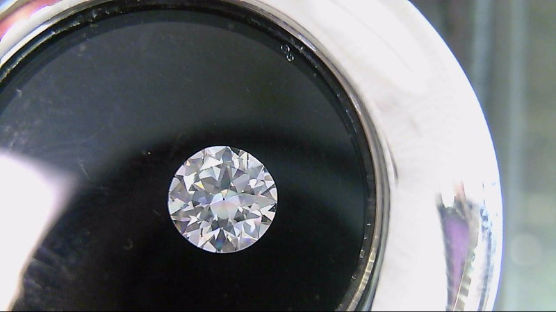 GIA Graduate Graded Loose H VS2 Round Diamond 0.47 Carat