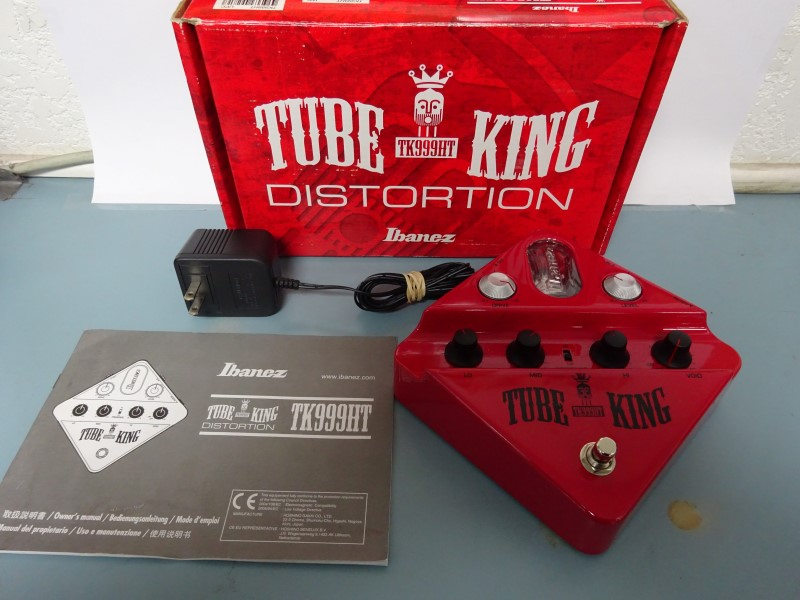 IBANEZ Effect Equipment TUBE KING TK999HT