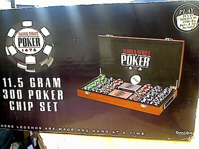 Indoor Sports POKER SET