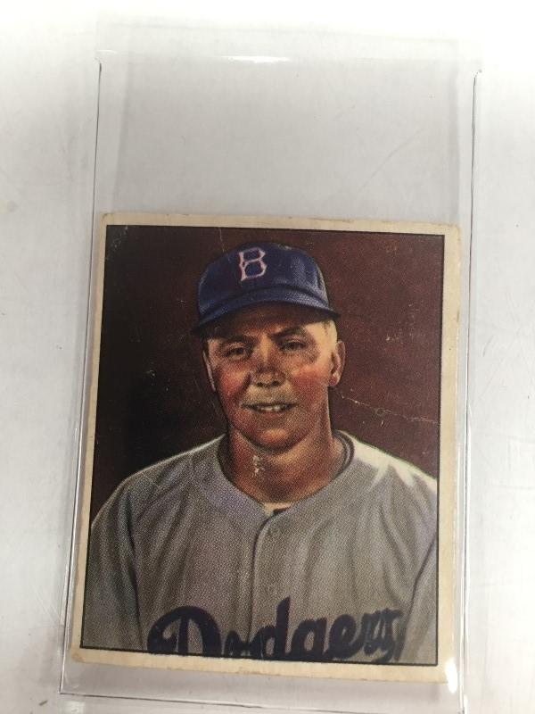 1950 BOWMAN HAROLD REESE BASEBALL CARD