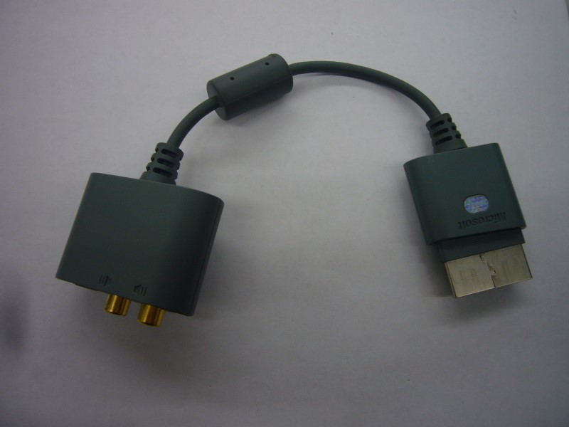 MICROSOFT Video Game Accessory XBOX 360 OPTICAL AUDIO ADAPTER